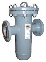 In-Line Liquid Basket Strainers Filter Housing